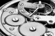 antique clock machinery - 71332133