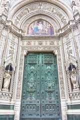 main door of Santa Maria del Fiore