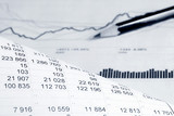 Financial accounting graphs and charts analysis