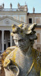Statue in the huge park of Villa Pisani, Italy