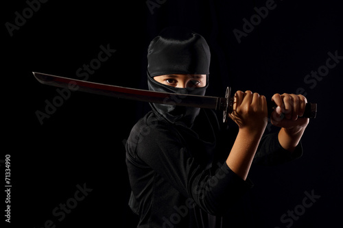 Poster Ninja kid