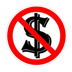 Dollar forbidden
