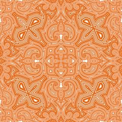 Various Colors of Art Nouveau Style Pattern design.