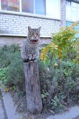 Кот - сторож
