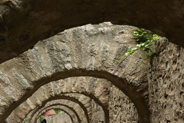 Arches de villefranche-de-conflent,Pyrénées