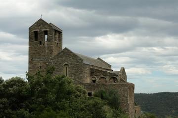 Prieuré de serrabone,Pyrénées orientales