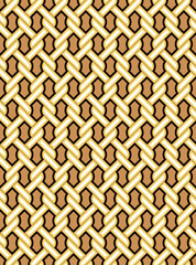 Twine Geometry Pattern. Korean traditional Pattern Design Series