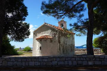 Chapel on the island of St. Nicholas