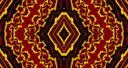 Colorful Tribal Abstract Background