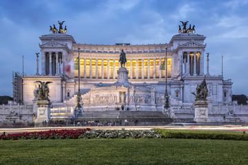 Altare della Patria in Rome Vittoriano Altar of the Fatherland