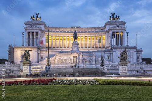 Foto op Plexiglas Rome Altare della Patria in Rome Vittoriano Altar of the Fatherland