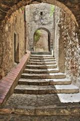 Escalier,Villefranches-de-conflent