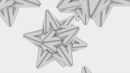3D ANIMATED PAPER STAR