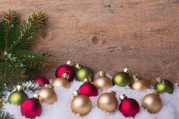 Weihnachten Hintergrund Holz Deko Winter