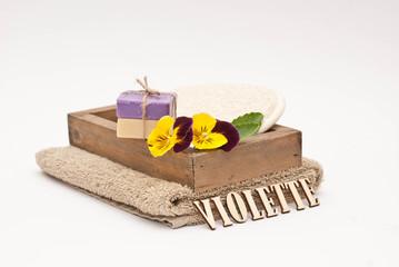 Sapone alla violetta