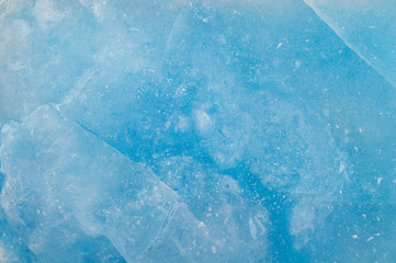 Ice surface.