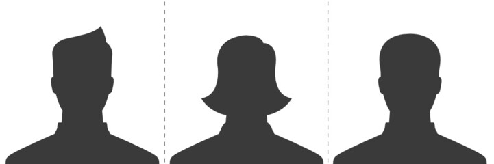 Male, Female, & Other - Default Profile Picture