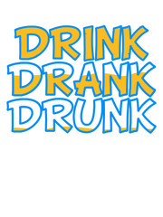 Drink Drank Drunk Comic Cartoon Text