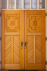 Wooden Church Doors