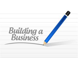 building a business message illustration