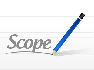 scope message illustration design