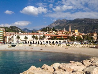 french rivera - Menton