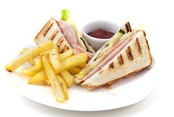 Sandwich with potato