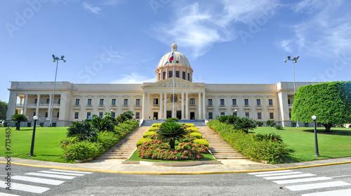 Fotobehang Centraal-Amerika Landen National Palace - Santo Domingo, Dominican Republic
