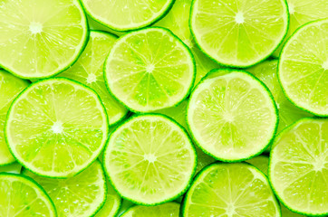 fototapeta plasterki limonki jako tło