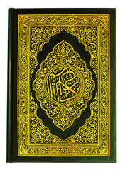 quran book isolated