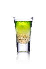 Colorful shot drink