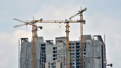 Building Under Construction, Timelapse video