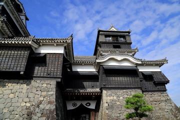熊本城天守閣入城口