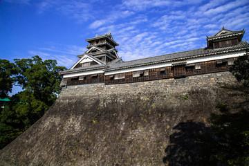 熊本城宇土櫓と石垣