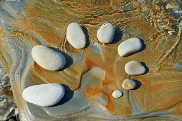 Pattern rhythm of stones