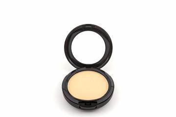 Makeup powder in Black case.
