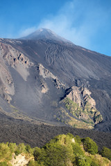 Cooled Lava Flows On Etna National Park, Sicily