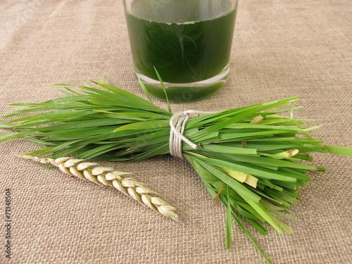 Frischer Weizengrassaft - 71348504