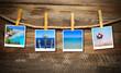 canvas print picture - Urlaubsbilder