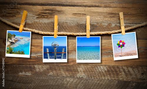 canvas print picture Urlaubsbilder
