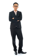Pan Asian businessman