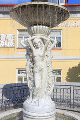 Fountain from Spa Libverda in north Bohemia, Czech Republic