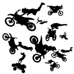 Vector bikers.