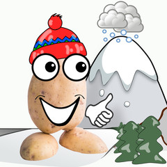 little potato man winter holidays
