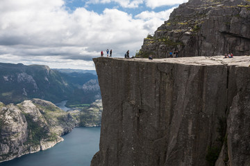 Pulpit Rock at Lysefjorden (Norway)