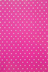 Background with white polka dots