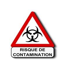 Attention risque de contamination