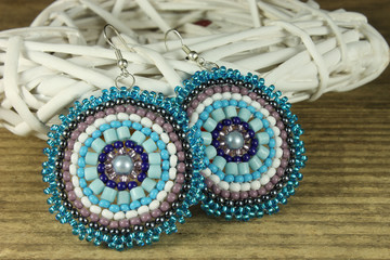Pair of earrings