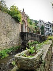 Bad Münstereifel Erft mit Burgtor
