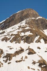 Berg in den Schweizer Alpen